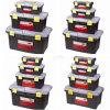 Alta qualità Colored pp Plastic Tool Caso per Madicine