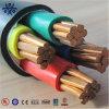 Tipo de cable acorazado cable de transmisión de cobre de la envoltura del PVC del aislante del conductor XLPE/PVC de 4*35mm2