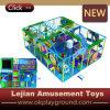 Cour de jeu d'intérieur d'enfants de plastique de qualité de prix bas (T1503-2)