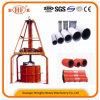 Hongfa Maschinerie-Vertikale-verdrängende konkrete Rohr-Produktions-Maschine