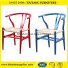 Madera de estilo moderno y silla con asiento de rota
