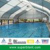 Tiendas curvadas grandes al aire libre de la cubierta de la piscina