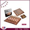 2 en 1 juego de madera del inspector del ajedrez del color (N2906)