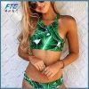 여자 싼 비키니 Beachwear를 위한 2017의 녹색 수영복