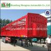 Le bétail/volaille de 3 axes transporte le bas de page de cargaison/le bas de page camion d'enjeu