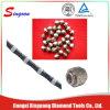 11.5mm 다이아몬드 철사는 화강암 사암 채석장 돌 절단을%s 보았다