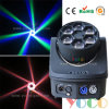 diodo emissor de luz Moving Head Light de Stage Beam Wash do disco da Abelha-Eyes 6X15W