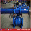Form Steel Flanged Trunnion Ball Valve mit Electric Actuator