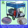 고압 세탁기술자 기계 젖은 모래 폭파 장비