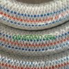 Tuyau renforcé transparent d'aspiration de PVC de fil d'acier (5 )