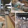 Registro de los residuos de madera del bosque de tambor trituradora astilladora