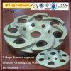 Segment de forme de L Diamond Diamond meulage tasse pour le béton de roue