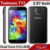 goedkope S5 Slimme Telefoon 4inch Mtk6572m (Twinovo)