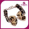 Pulsera de la mariposa de las pulseras de la marca de fábrica de la joyería de la marca de fábrica de la pulsera del acero inoxidable de la manera