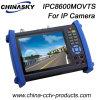7 Universal CCTV Moniteur de test de l'appareil photo avec fonctions complètes (IPCT8600MOVTS)