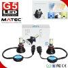 G5 Carro Auto Ampola LED com COB 4 Lados H4 H7 H8 H9 H11