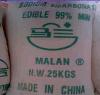 المصنع مباشرة بيع حار بيكربونات الصوديوم 99.0٪ مين الصف الغذاء