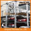 Système mécanique de stationnement de case multiniveaux de quatre postes d'entraînement de moteur (FPSP-3/4)