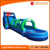 膨脹可能なPVC防水シート極度の水スライドNのスリップ(T11-084)