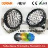 Desempenho enorme 7 polegada 128W LED redondos luz de condução (GT1015-128W)