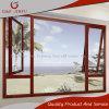 Ver o perfil de alumínio de madeira toldos Vidro da janela de Metal