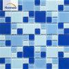 Deep Blue cuadrado Color Mezcla de piscina mosaico de vidrio