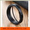 Armband van uitstekende kwaliteit van de Kabel van het Leer van de Mens van de Armband van het Leer van Juwelen de In het groot Geweven (BL2853)