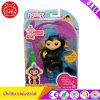 Finn игрушки обезьяны младенца Fingerlings взаимодействующий (чернота с голубыми волосами)