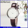Montre-bracelet classique de dames de mode de quartz d'usine (Wy-059A)