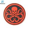 Fabriek van het Flard van pvc van de Octopus van de douane 3D Rode Rubber