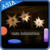 Aufblasbare stachelige Bereich-Dekoration mit LED-Beleuchtung/aufblasbarem Beleuchtung-Stern
