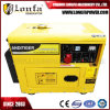 генератор 5kVA/6kVA трехфазный Kipor молчком тепловозный