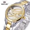 Het Horloge van de Dames van Belbi personaliseerde het Creatieve Waterdichte Horloge van Brandquartz van het Roestvrij staal