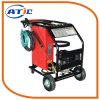 Lavadora de Alta Pressão Car Wash, 2 rodas a arruela de pressão portátil