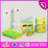 Conjuntos de móveis para crianças de madeira pré-escolar de alta qualidade W08h073