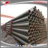 Tubos de acero huecos pintados negros de carbón de la sección de ASTM A53 ERW