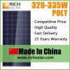 Nuovi comitati solari 330watt di energia solare di disegno con il certificato del Ce