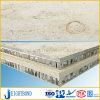 Panneaux sandwich en pierre de marbre beiges de nid d'abeilles de Jura