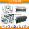 Profil en aluminium d'extrusion de radiateur d'usine de la Chine
