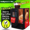 Comercial Bean Máquina expendedora taza de café