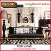 2s007 Tiziano Livingroom Furniture Sofá de couro clássico de 3 lugares