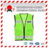 Grüne hohe Sicht-Sicherheits-reflektierende Weste (vest-6)