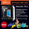 가정 탁상용 개인적인 작은 소형 크기 16X16X16cm 아주 새로운 비 사용된 3D 인쇄 기계
