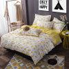 Tampa barata do Duvet da folha de base da tela de matéria têxtil da HOME do algodão