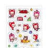 Children Toy를 위한 자동 접착 Craft Paper Sticker Label