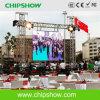 Chipshow P6.67 palco ao ar livre em cores de LED de aluguer