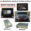 Mise à niveau de l'interface vidéo multimédia Android GPS Navigator pour (12-14) Benz C/E/A/B/ml/glk