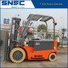 China-sicherer u. grüner elektrischer Gabelstapler 3t mit Triplex Mast für Verkauf