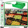 Plastic Foldable Vegetable e Fruit Crate para Agriculture