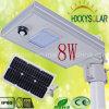 Éclairage LED solaire Integrated 8W de rue